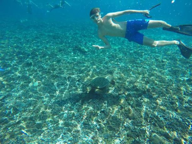 Snorkeling On ,Gili Islands